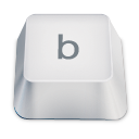 Letter B Emoticon