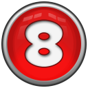 Number 8 Emoticon