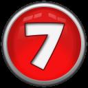 Number 7 Emoticon