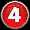 Number 4 Emoticon