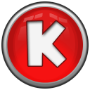 Letter K Emoticon