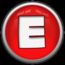 Letter E Emoticon