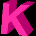 Letter K Emoticon