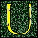 Letter U Emoticon