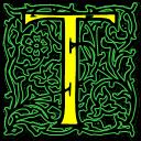 Letter T Emoticon