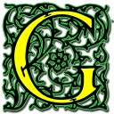 Letter G Emoticon