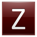 Letter Z Red Emoticon