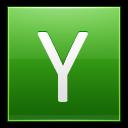 Letter Y Lg Emoticon