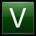 Letter V Dg Emoticon