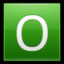 Letter O Lg Emoticon