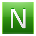 Letter N Lg Emoticon
