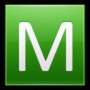 Letter M Lg Emoticon