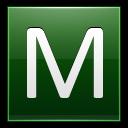 Letter M Dg Emoticon