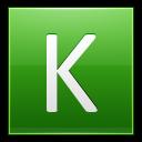 Letter K Lg Emoticon