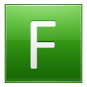 Letter F Lg Emoticon