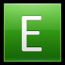 Letter E Lg Emoticon