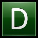 Letter D Dg Emoticon