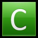 Letter C Lg Emoticon
