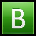 Letter B Lg Emoticon