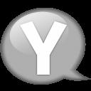 Speech Balloon White Y Emoticon