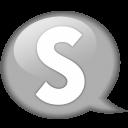 Speech Balloon White S Emoticon