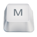 Letter Uppercase M Emoticon