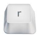 Letter R Emoticon