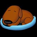 Sleeping Old Dog Emoticon