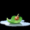 Pool Leaf Emoticon