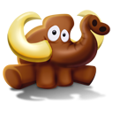 Mammoth Seated Emoticon