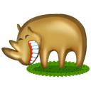 Rhinoceros Emoticon