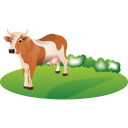 Feeding Cattle Emoticon