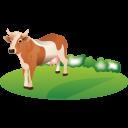 Feeding Cattle Emoticon