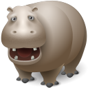 Hippopotamus Emoticon