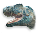 Theropod Dinosaur Emoticon