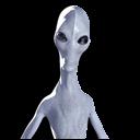 Alien Abduction Emoticon