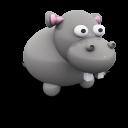 Hippoporcelain Emoticon