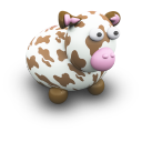 CowBrownaPorcelaine Emoticon