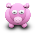 PinkCow Emoticon