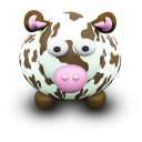 CowBrownSpots Emoticon