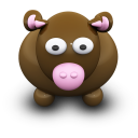 BrownCow Emoticon