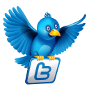 Twitter Flying Emoticon