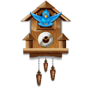 Twitter Cuckoo Clock Emoticon