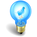 Twitter Bulb Emoticon