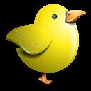 Twitter Bird Yellow Emoticon