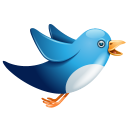 Twitter Bird Flying Emoticon