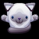 Cat Gray Emoticon
