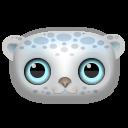 Snow Leopard Emoticon