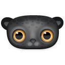 Black Leopard Emoticon