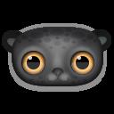 Black Leopard Emoticon